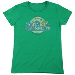 Land Before Time - Womens Retro Logo T-Shirt