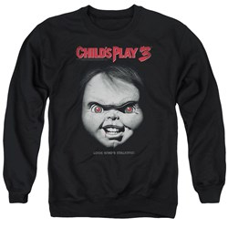 Childs Play 3 - Mens Face Poster Sweater