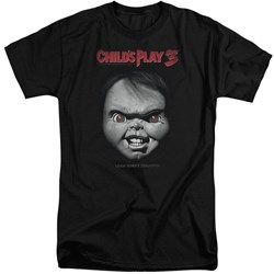 Childs Play 3 - Mens Face Poster Tall T-Shirt