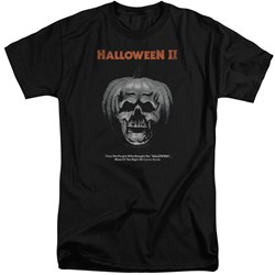 Halloween II - Mens Pumpkin Poster Tall T-Shirt