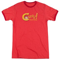 Curious George - Mens Curious Ringer T-Shirt
