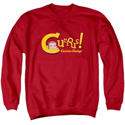 Curious George - Mens Curious Sweater