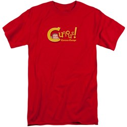 Curious George - Mens Curious Tall T-Shirt