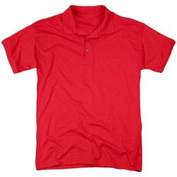 Curious George - Mens Curious (Back Print) Polo