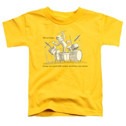 Curious George - Toddlers This Is George T-Shirt
