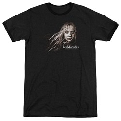 Les Miserables - Mens Cosette Face Ringer T-Shirt