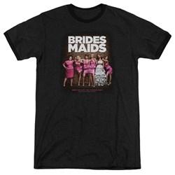 Bridesmaids - Mens Poster Ringer T-Shirt