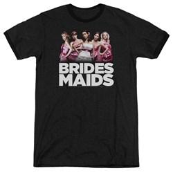 Bridesmaids - Mens Maids Ringer T-Shirt