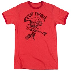 Scott Pilgrim - Mens Rockin Ringer T-Shirt