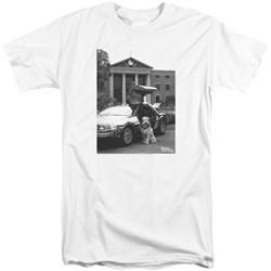 Back To The Future II - Mens Einstein Tall T-Shirt