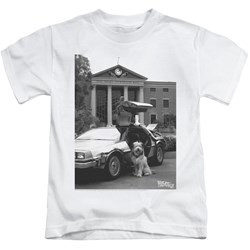Back To The Future II - Little Boys Einstein T-Shirt