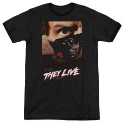 They Live - Mens Poster Ringer T-Shirt