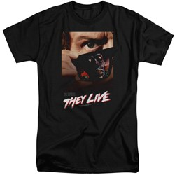They Live - Mens Poster Tall T-Shirt