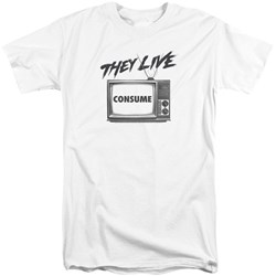 They Live - Mens Consume Tall T-Shirt