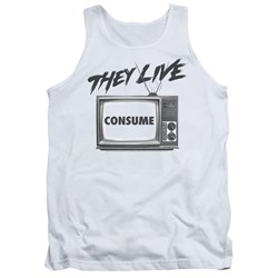 They Live - Mens Consume Tank Top