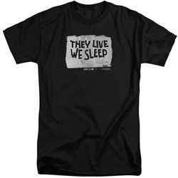 They Live - Mens We Sleep Tall T-Shirt