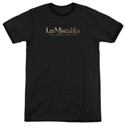 Les Miserables - Mens Logo Ringer T-Shirt