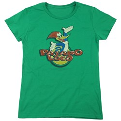 Woody Woodpecker - Womens Loco T-Shirt