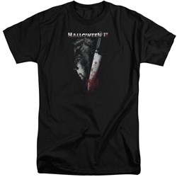 Halloween II - Mens Cold Gaze Tall T-Shirt