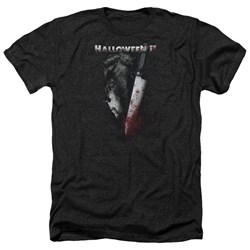 Halloween II - Mens Cold Gaze Heather T-Shirt