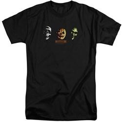 Halloween III - Mens Three Masks Tall T-Shirt