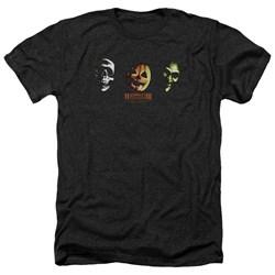 Halloween III - Mens Three Masks Heather T-Shirt