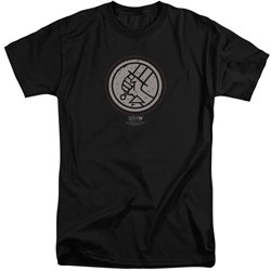 Hellboy II - Mens Mignola Style Logo Tall T-Shirt