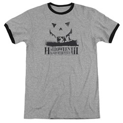 Halloween III - Mens Silhouette Ringer T-Shirt