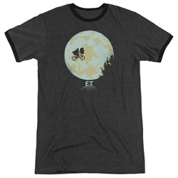 ET - Mens In The Moon Ringer T-Shirt