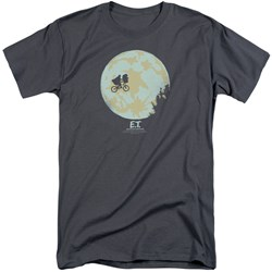 ET - Mens In The Moon Tall T-Shirt