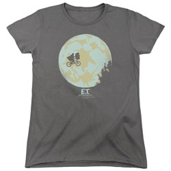 ET - Womens In The Moon T-Shirt