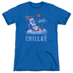 Chilly Willy - Mens Chillax Ringer T-Shirt
