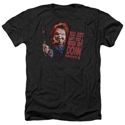 Childs Play 3 - Mens Good Guy Heather T-Shirt