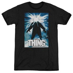 Thing - Mens Poster Ringer T-Shirt