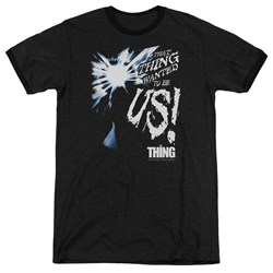 Thing - Mens Wanted To Be Us Ringer T-Shirt