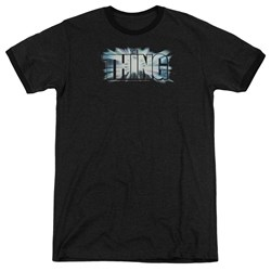 Thing - Mens Logo Ringer T-Shirt