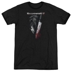 Halloween II - Mens Cold Gaze Ringer T-Shirt