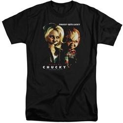 Bride Of Chucky - Mens Chucky Gets Lucky Tall T-Shirt