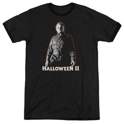 Halloween II - Mens Michael Myers Ringer T-Shirt