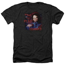 Childs Play 3 - Mens Time To Play Heather T-Shirt
