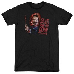 Childs Play 3 - Mens Good Guy Ringer T-Shirt
