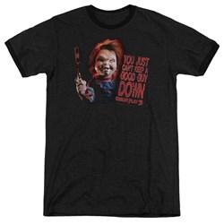 Childs Play 3 - Mens Good Guy Ringer T-Shirt