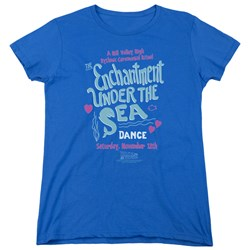 Back To The Future - Womens Under The Sea T-Shirt