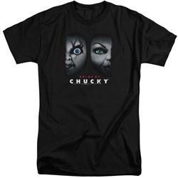 Bride Of Chucky - Mens Happy Couple Tall T-Shirt