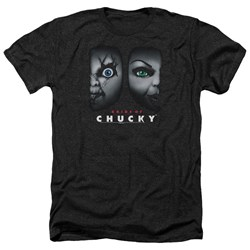 Bride Of Chucky - Mens Happy Couple Heather T-Shirt