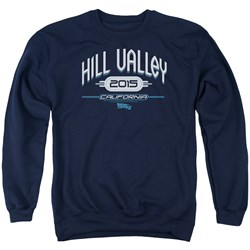 Back To The Future II - Mens Hill Valley 2015 Sweater