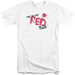 Shaun Of The Dead - Mens Red On You Tall T-Shirt