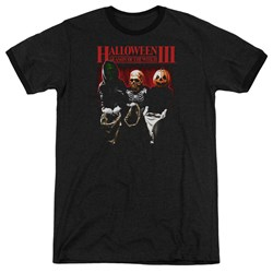 Halloween III - Mens Trick Or Treat Ringer T-Shirt