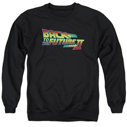 Back To The Future II - Mens Logo Sweater