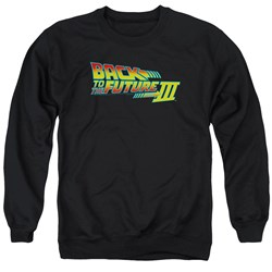 Back To The Future III - Mens Logo Sweater